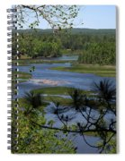 River And Trees Spiral Notebook