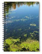 River Water Pollution Spiral Notebook