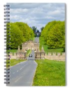 Road To Burghley House Spiral Notebook