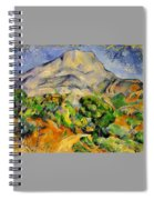 Road To The Montagne Sainte-victoire Spiral Notebook