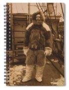 Robert Edwin Peary, American Explorer Spiral Notebook