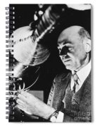 Robert Hutchings Goddard Spiral Notebook