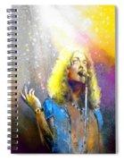 Robert Plant 02 Spiral Notebook