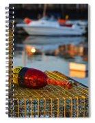 Rockport Ma Lobster Traps Spiral Notebook