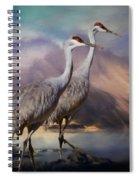 Rocky Mountain Sandhill Cranes Spiral Notebook