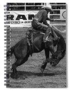 Rodeo Saddleback Riding 5 Spiral Notebook