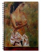 Roman Nude 67 Spiral Notebook