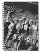 Rome: Arch Of Titus Spiral Notebook