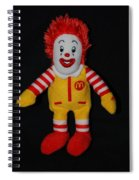 Ronald Mcdonald Spiral Notebook