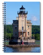 Rondout Lighthouse On The Hudson River New York Spiral Notebook
