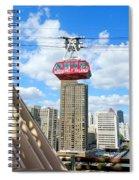 Roosevelt Island Tram Spiral Notebook