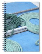 Ropes And Bolt Hook Spiral Notebook