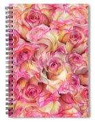 Roses Background Spiral Notebook