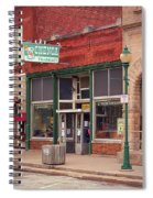 Route 66 - Chenoa Pharmacy Spiral Notebook