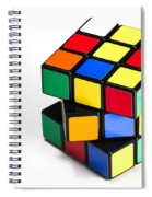 Rubiks Cube Spiral Notebook