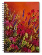 Rudbeckias And Lyatris Spiral Notebook
