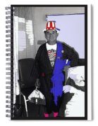 Russell Short Celebrating July 4th Tucson Medical Center 1990-2008 Spiral Notebook