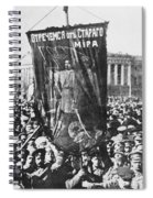Russia: Revolution Of 1917 Spiral Notebook