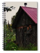 Rustic Homestead Spiral Notebook