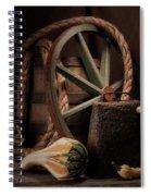 Rustic Still Life Spiral Notebook