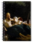 Ruth And Booz Spiral Notebook