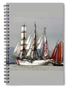 Eagle And Roseway Spiral Notebook