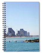 Sailboats In The Mediterranean Sea  Spiral Notebook