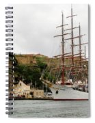 Sailing Ship Spiral Notebook