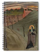 Saint Anthony The Abbot In The Wilderness Spiral Notebook