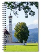 Saint Coloman Church 2 Spiral Notebook
