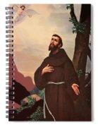 Saint Francis Spiral Notebook