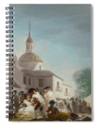 Saint Isidore's Day At The Saint's Hermitage Spiral Notebook