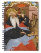 Saint Jerome Extracting A Thorn From A Lion's Paw Spiral Notebook