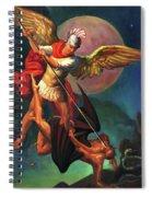 Saint Michael The Warrior Archangel Spiral Notebook