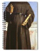 Saint Nicholas Of Tolentino Spiral Notebook