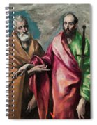 Saint Peter And Saint Paul Spiral Notebook