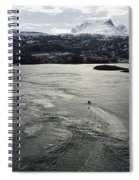 Saltstraumen View Spiral Notebook