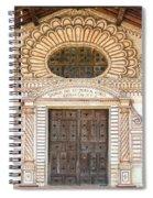 San Javier Church Facade Spiral Notebook