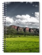 San Juan Mountains Of Colorado Spiral Notebook