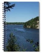 Sandy Dune Spiral Notebook
