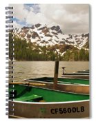 Sardine Lake Spiral Notebook
