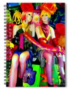 Sassy Sisters Spiral Notebook
