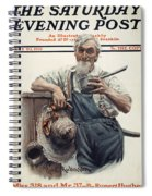 Saturday Evening Post Spiral Notebook