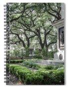 Historic Wright Square - Downtown Savannah Georgia Spiral Notebook