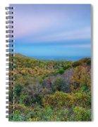 Scenic Blue Ridge Parkway Appalachians Smoky Mountains Autumn La Spiral Notebook