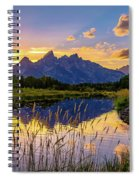 Schwabacher's Reflection Spiral Notebook