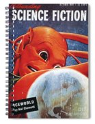 Science Fiction Magazine Spiral Notebook