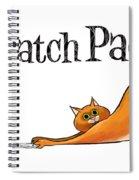 Scratchy Cat Spiral Notebook