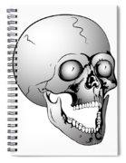 Screaming Skull Spiral Notebook