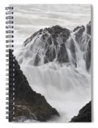 Seal Rock Waves And Rocks 2 Spiral Notebook